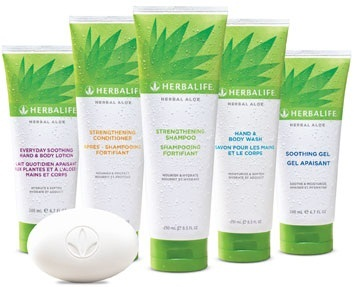 Herbalife Cura Corpo e Capelli all'Aloe